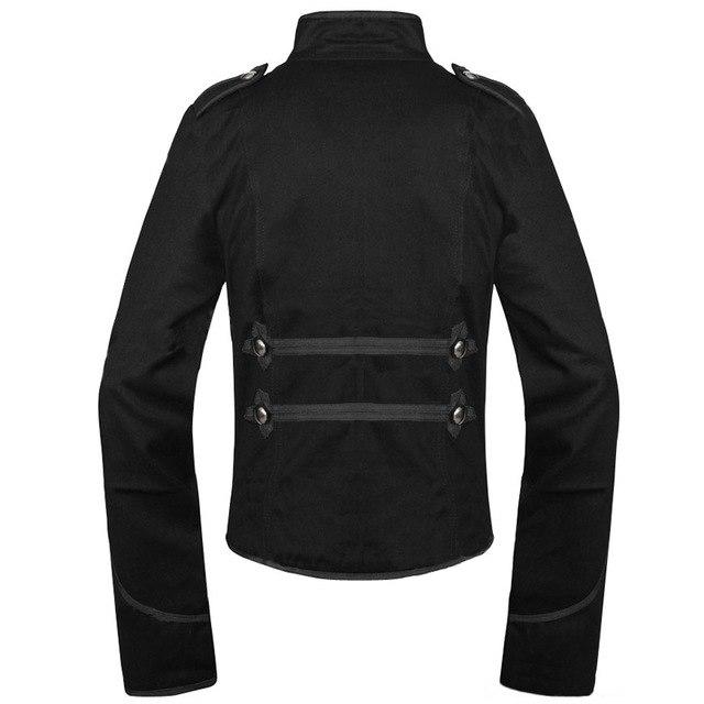 Black Marching Band Jacket