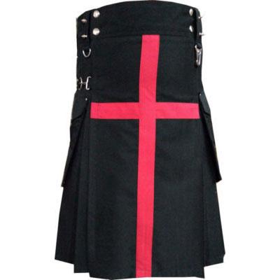 black and red kilt