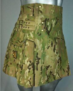 army green color kilt