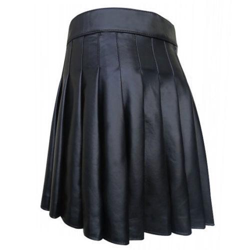 Mens Leather Kilt