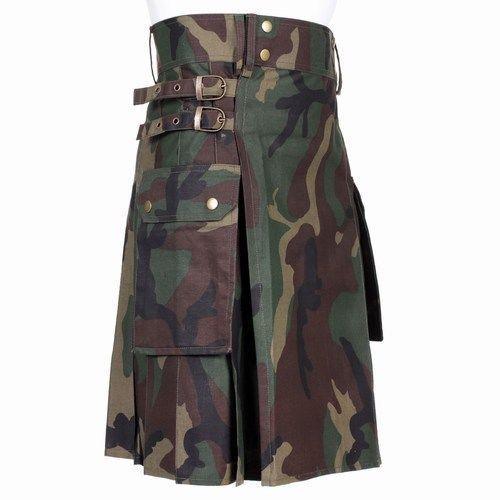 military style kilt