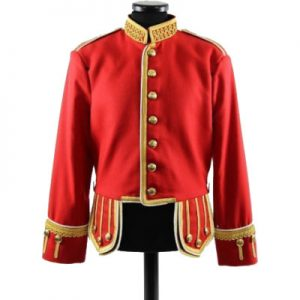 red mens suit jacket