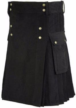Black Kilt Outfit