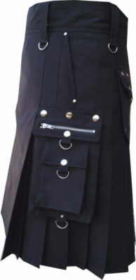 Utility Kilt Outfit