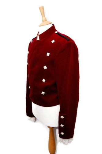 red kilt jacket