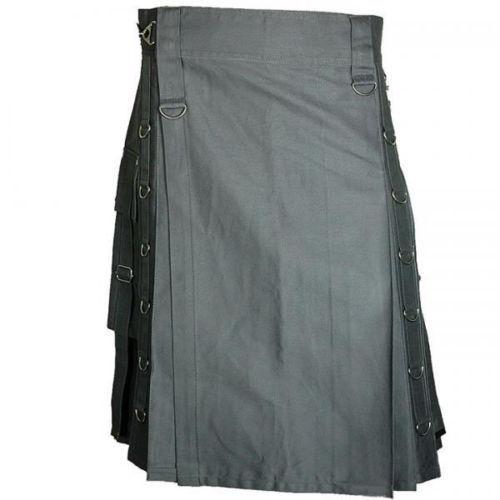 dark grey kilt