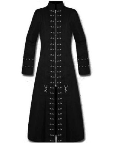 Black Long Coat For Man