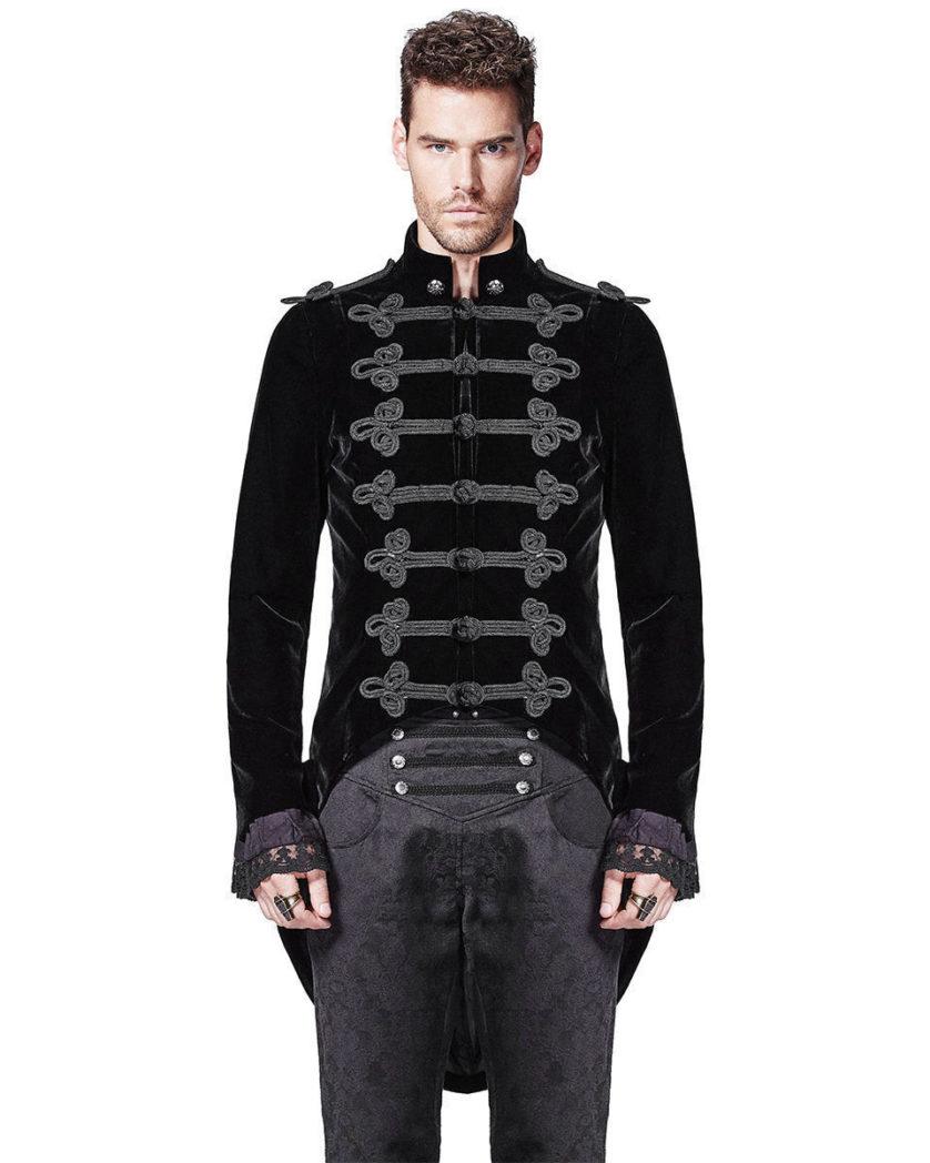 attractive black velvet Jacket