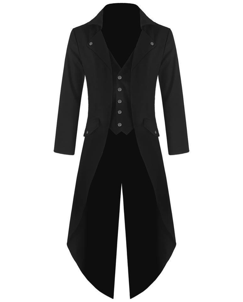 Gothic Steampunk tail coat