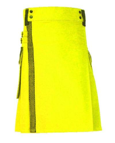 yellow kilt
