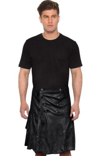 All Black Kilt Outfit