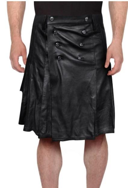 leather kilt mens new