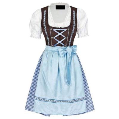 3 Piece Dirndl Dress For Women