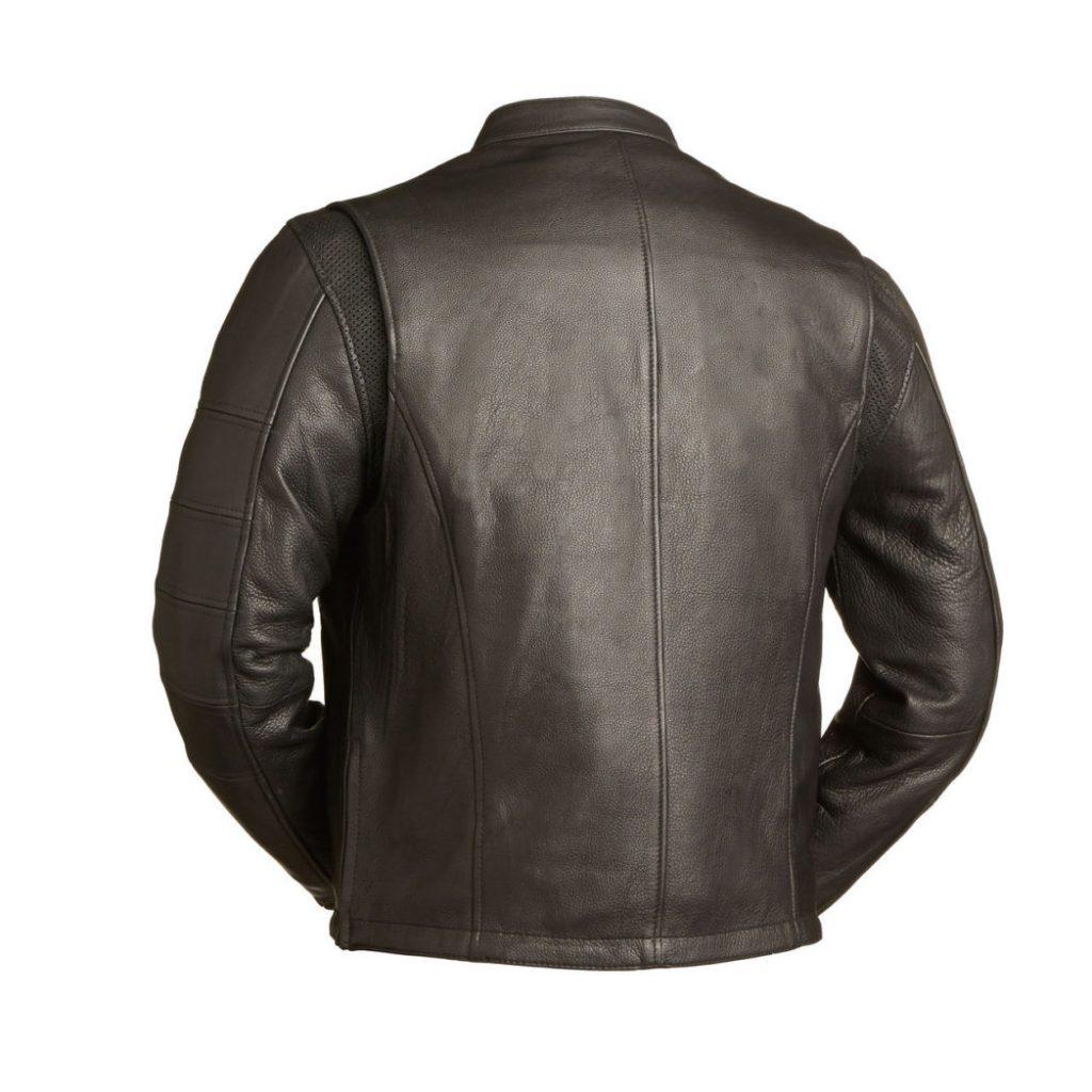 moto racer leather jacket