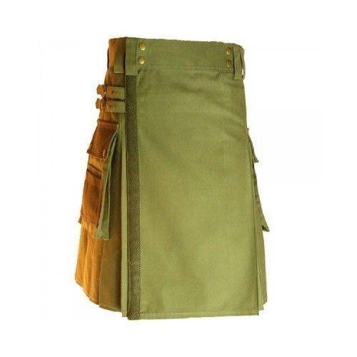 Olive Green kilt