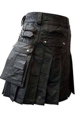 Leather War Kilt