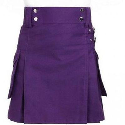 Purple Dress Kilt