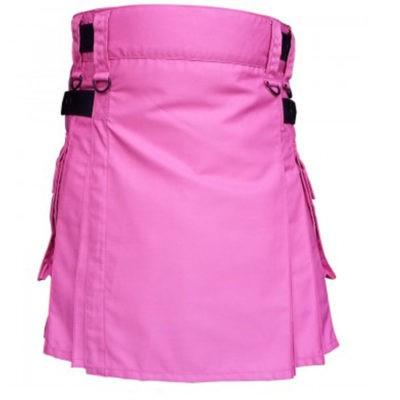 Pink Kilt For Ladies