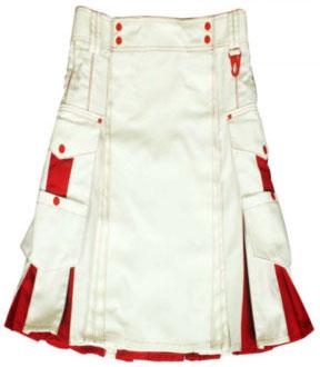 Red And White Kilt