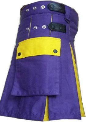 Purple Mini Kilt