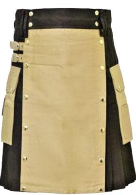 Scottish Man Wearing Kilt