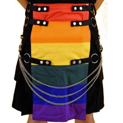 Gay pride Kilt