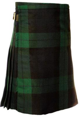 black watch tartan kilt outfit