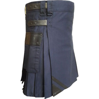 new Navy Blue Kilt