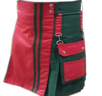 Green Mini Kilt