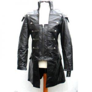 gothic long coat jacket