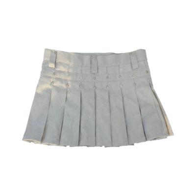 White Mini Kilt