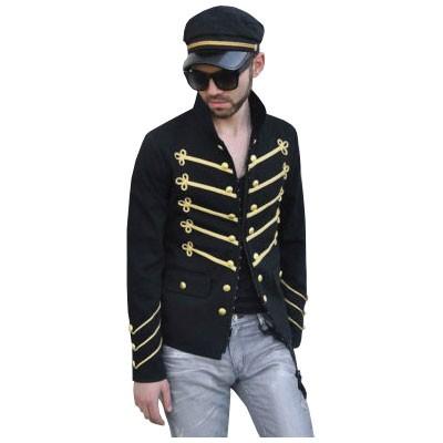 Military Black Jacket
