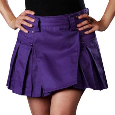 Womens Purple Kilt