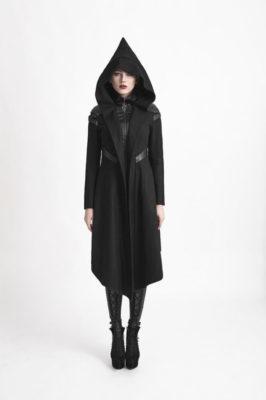 Gothic Hooded Jacket Womens
