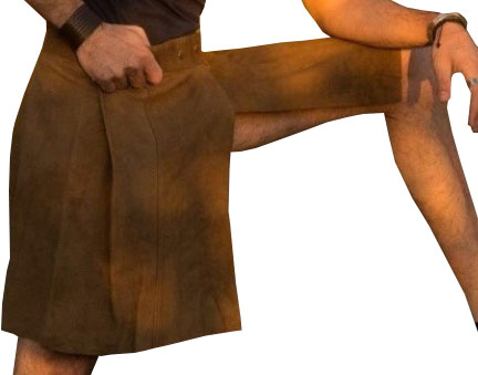 Men Leather Kilt for Sale