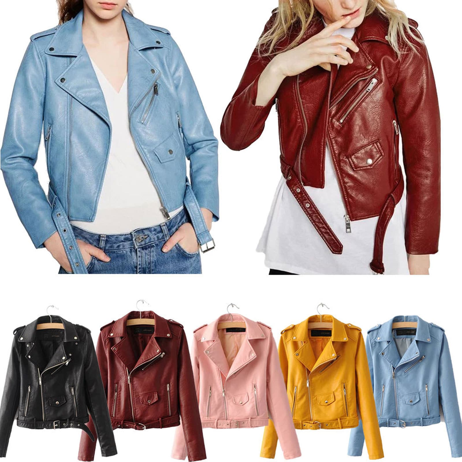 modern Real Leather Jackets Womens