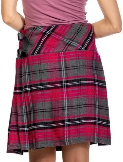 Traditional Scottish Dress Female kilt
