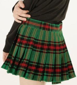 Mini Tartan Skirt