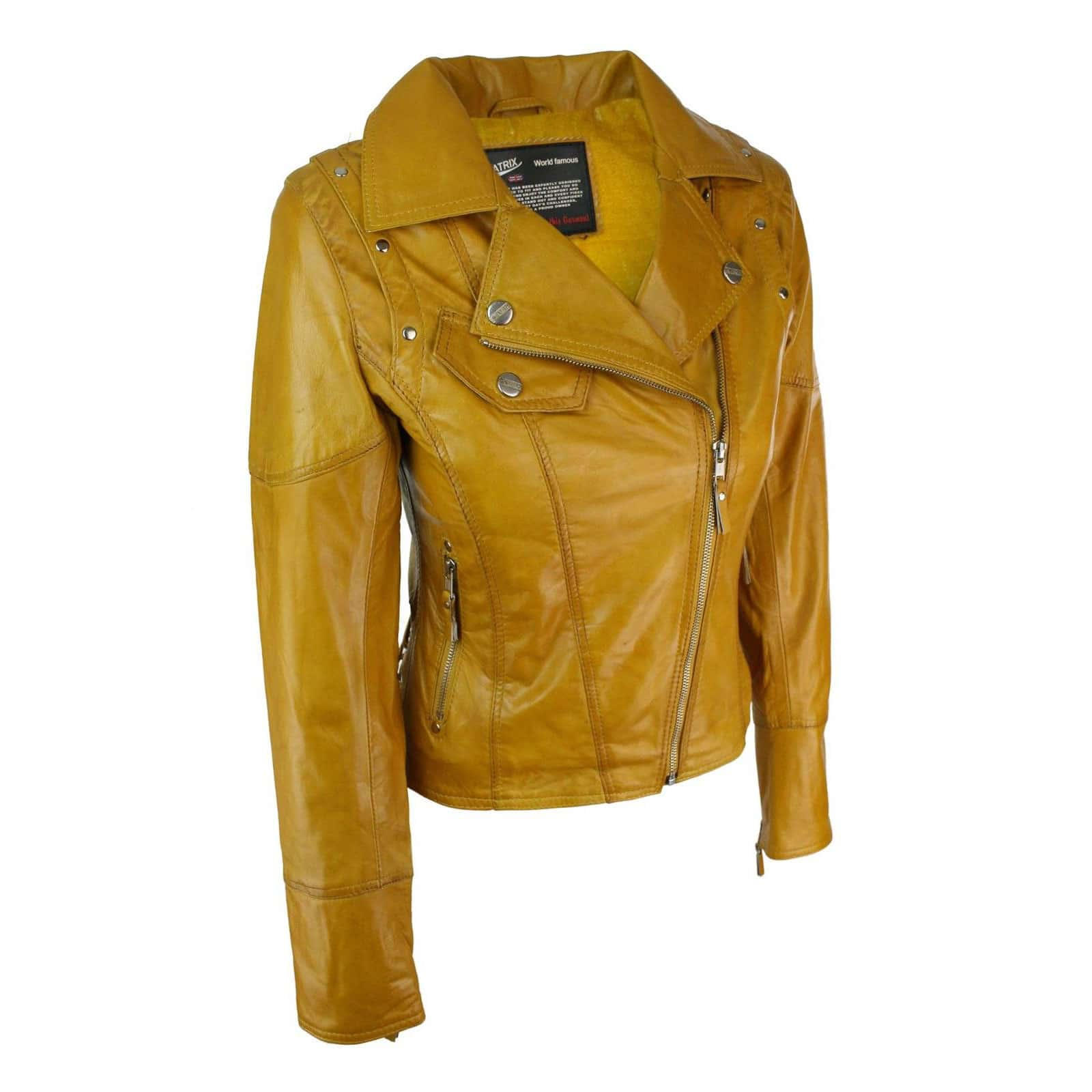 buy Womens Leather Motorcycle Jackets