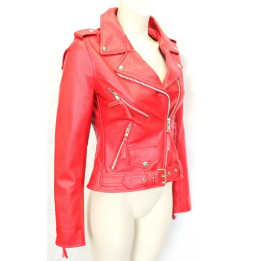 Real Leather Jackets Womens for sale