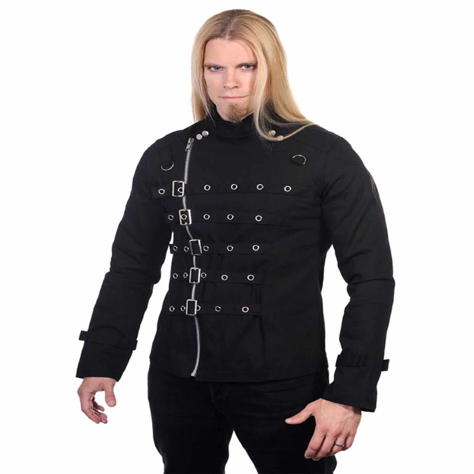 gothic trench coat men
