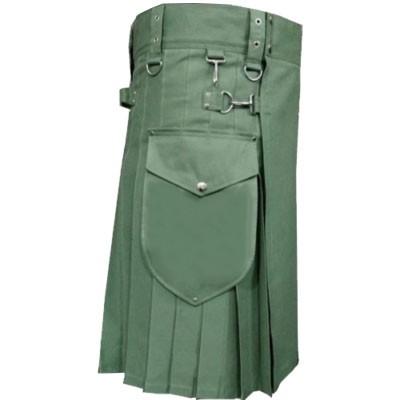 Green Kilt Mens
