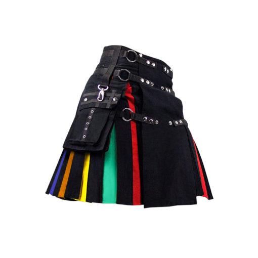 Black Rainbow Hybrid Kilt