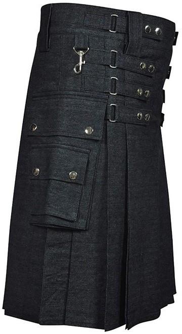 Denim Fashion Kilt