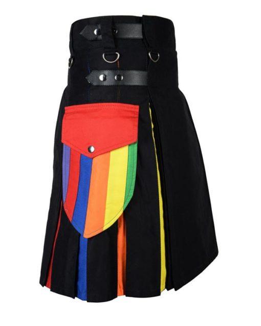 Rainbow Utility Kilt