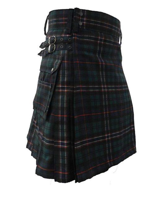 Scottish Tartan utility kilt