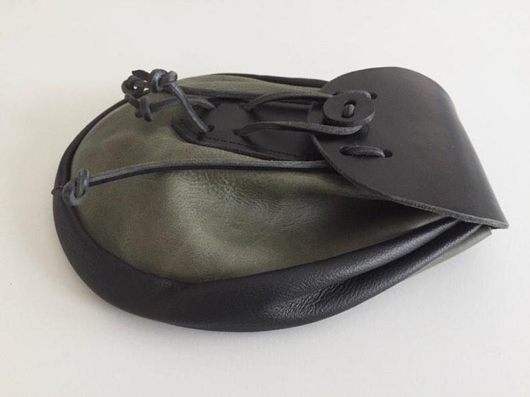 Light Brown Leather Sporran