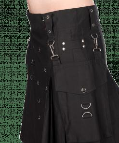 Black Utility Pistol Kilt