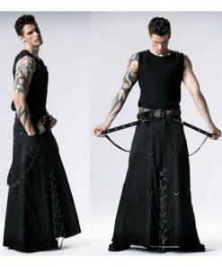 Long Gothic Man Kilt