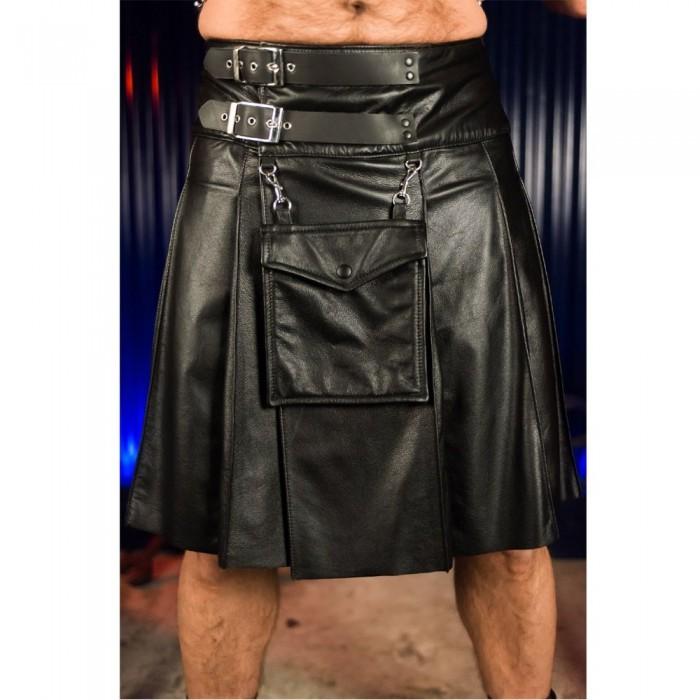 Leather Sport Kilt